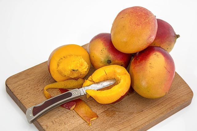 Mango je šťavnaté a plné vitamínů