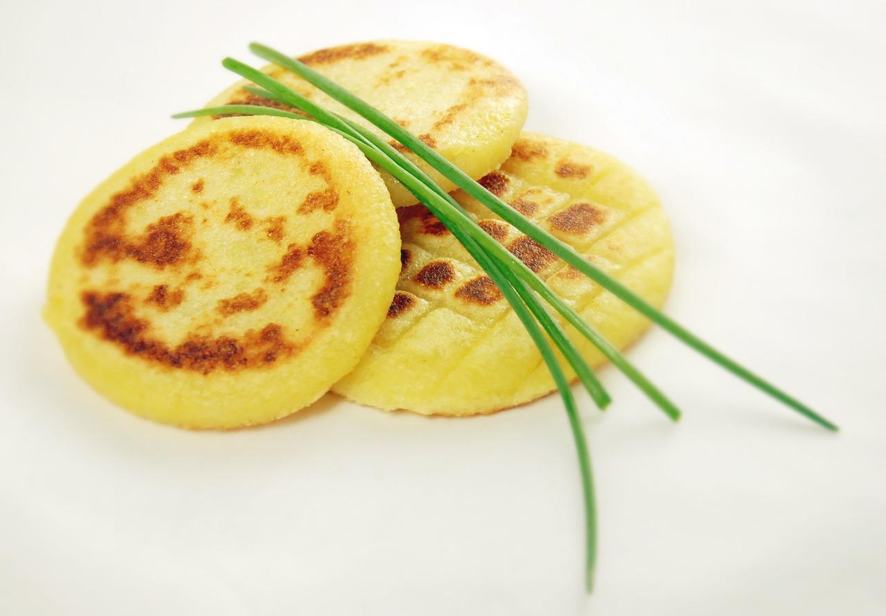 bramborové placičky pro vegany